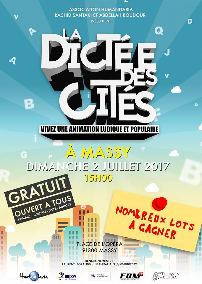 Dictée des Cités 2017