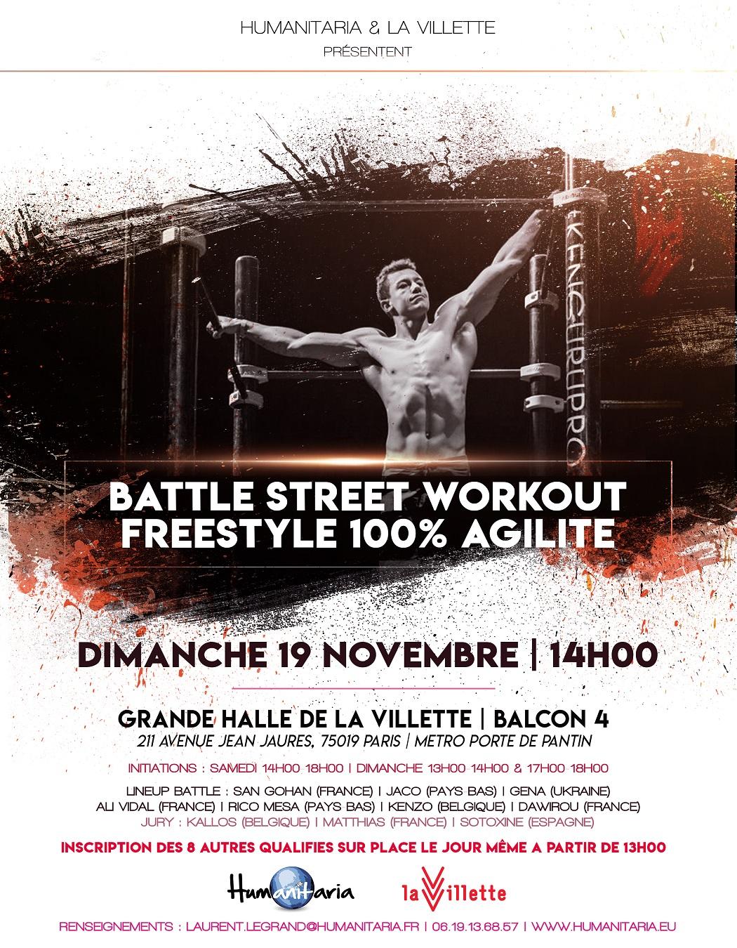 Humanitaria programmée au Freestyle 2017 de La Villette !