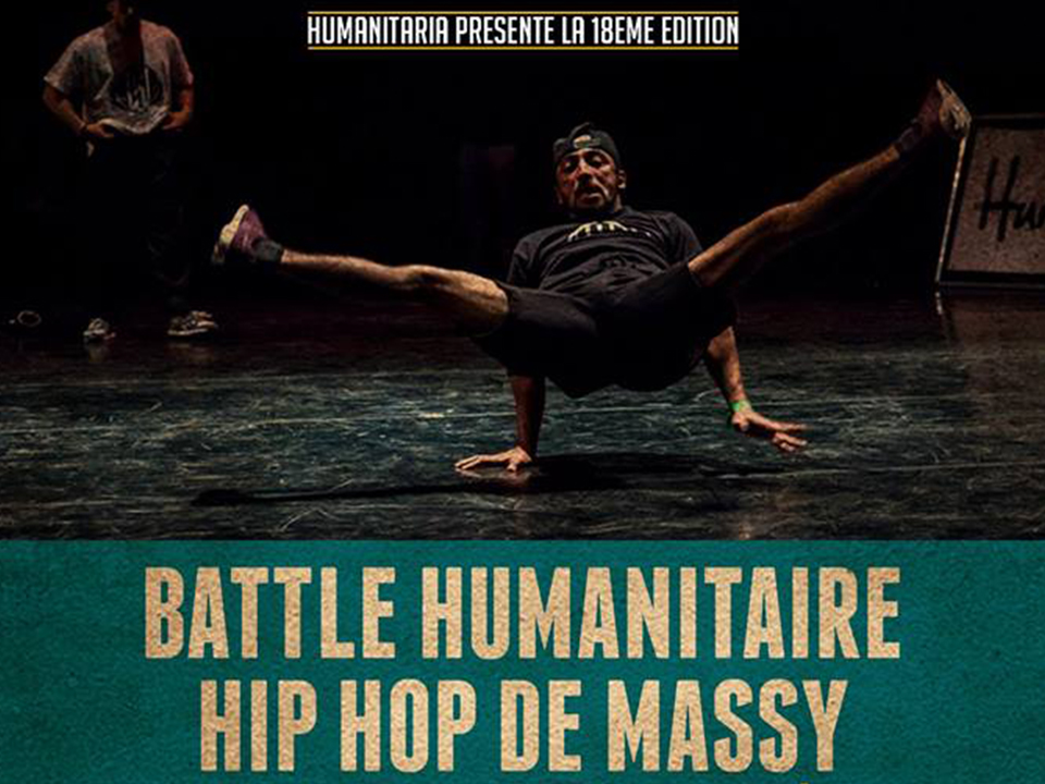 Battle Humanitaire hip-hop de Massy 2018