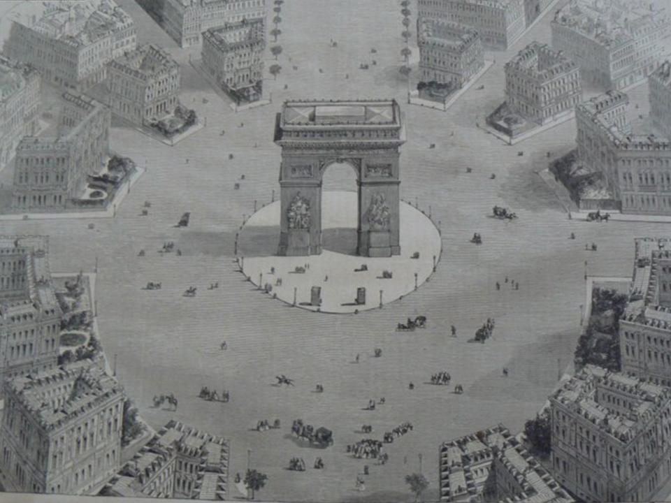 La transformation de Paris