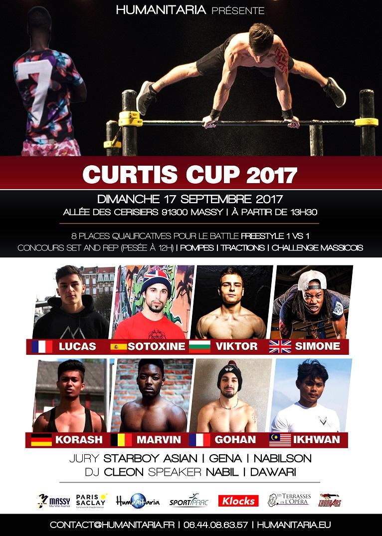 La programmation de la Curtis Cup 2K17 !